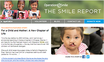 The Smile Report: our monthly eNewsletter